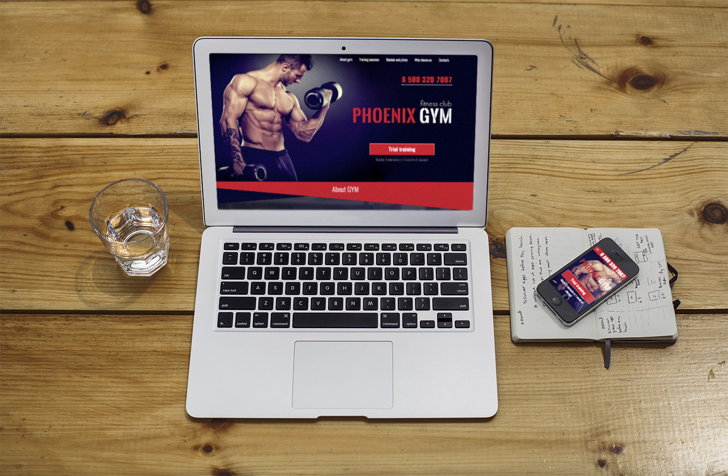 Phoenix gym gym and fitness club responsive html template by kovalmax phoenix gym is a responsive html template what is perfect for build any type of gym fitness center or health club its one page template is well organized maxwellsz