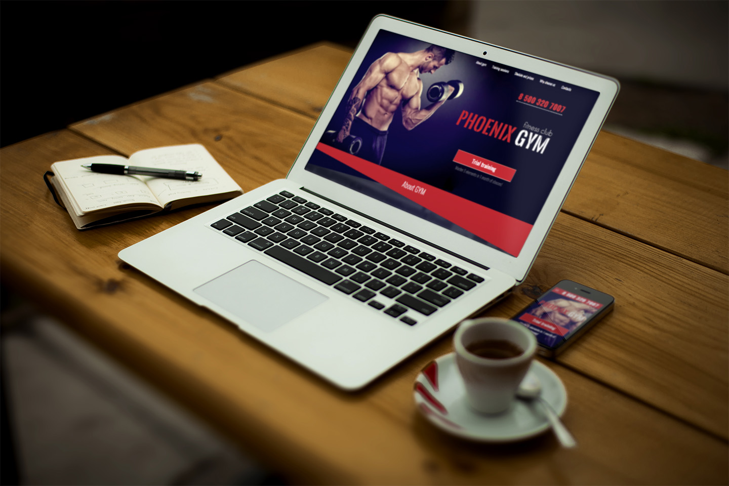 Phoenix Gym - Gym and Fitness Club Responsive HTML Template - 2