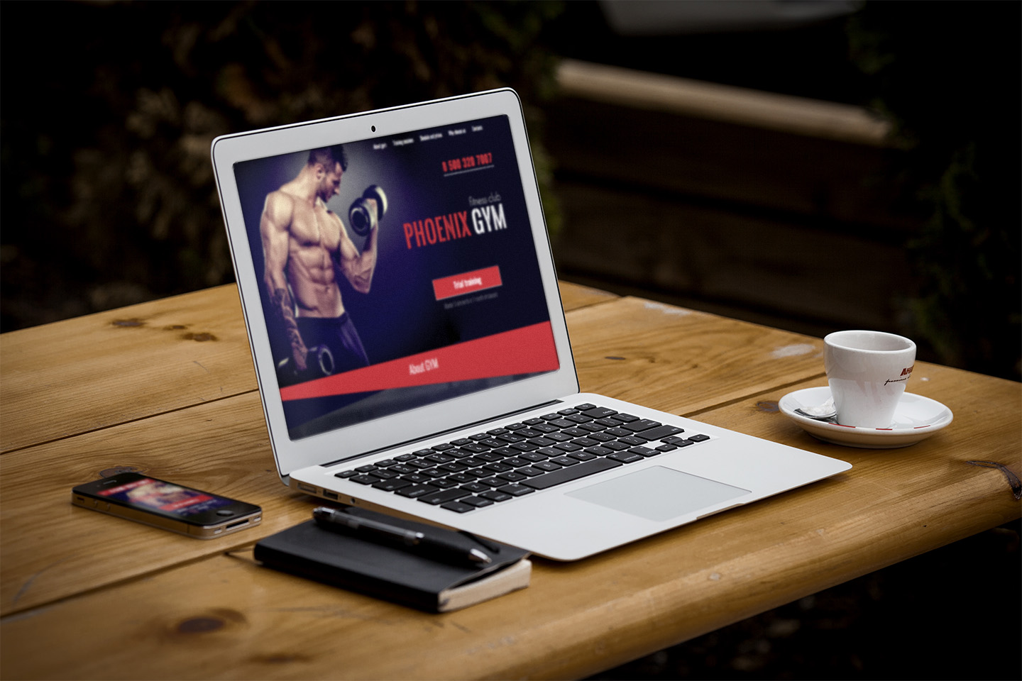 Phoenix Gym - Gym and Fitness Club Responsive HTML Template - 3