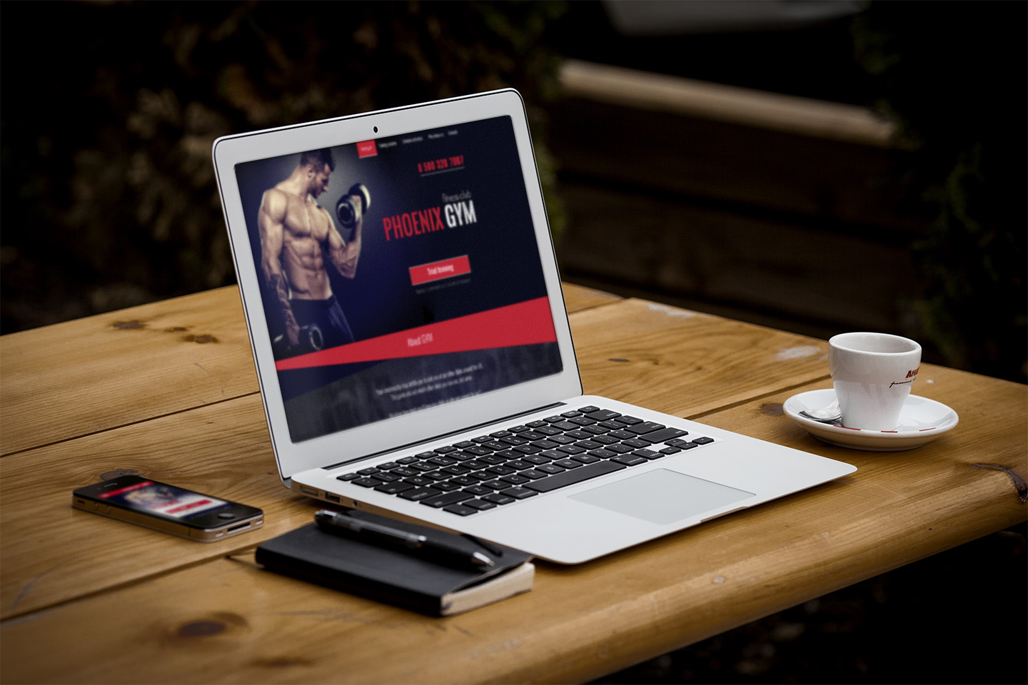 Phoenix Gym - Gym and Fitness Club Responsive PSD Template - 3
